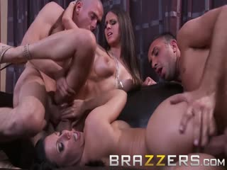 Brazzers - Rachel RoXXX & Rachel Starr in hot swinger foursome